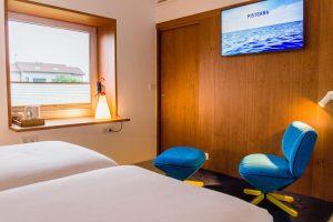 calmado hotel con balneario en Finisterre