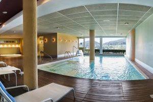ostentoso hotel con zona de spa en Viveiro