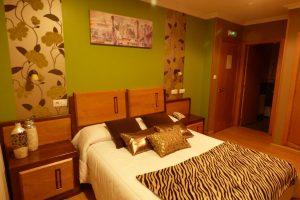 cómodo hotel con zona de spa en Galicia