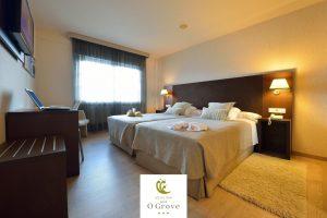 exclusivo hotel con centro de bienestar en Pontevedra