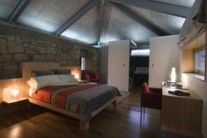 moderno hotel con servicios de spa en Ourense