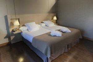 lujoso hotel spa en Santaballa, Galicia