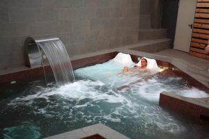 lujoso hotel con zona de spa en Lugo